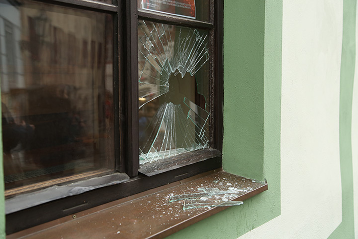 A2B Glass are able to board up broken windows while they are being repaired in Northolt.